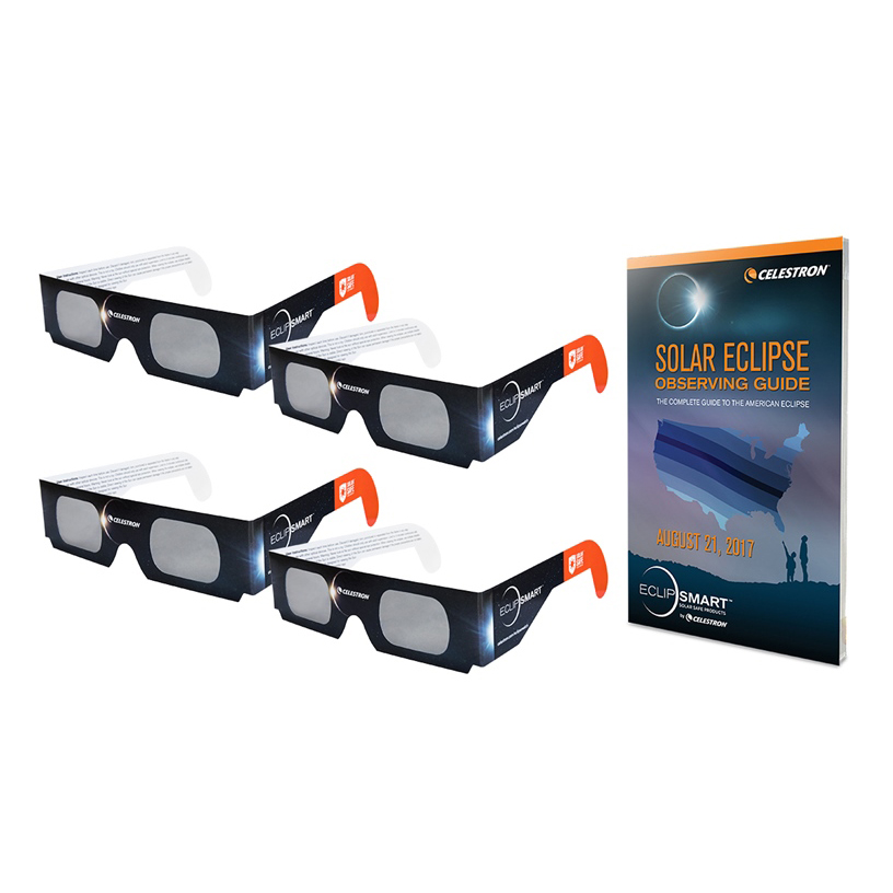 ITEM #44405 ECLIPSMART SOLAR SHADES SUN AND ECLIPSE OBSERVING KIT