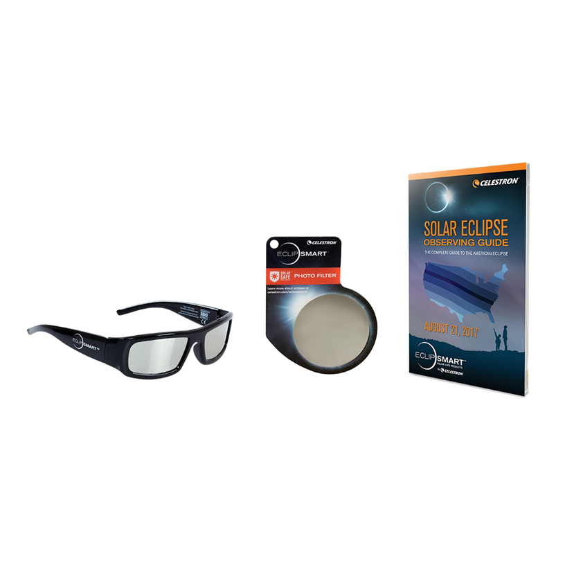 ITEM #44413 ECLIPSMART DELUXE 3 PIECE SUN OBSERVING AND IMAGING KIT