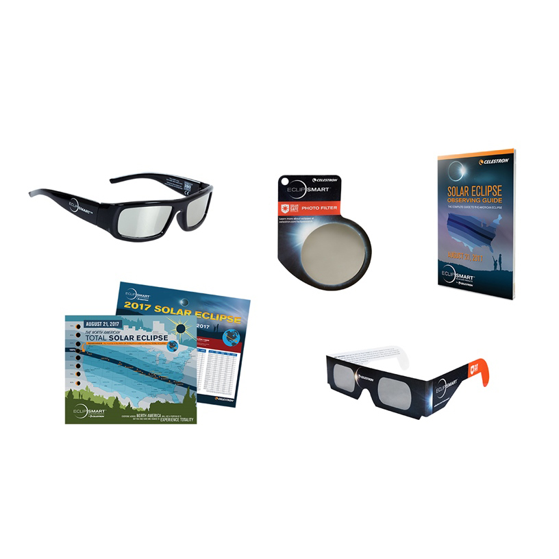 ITEM #44414 ECLIPSMART ULTRA 8 PIECE SUN OBSERVING AND IMAGING KIT