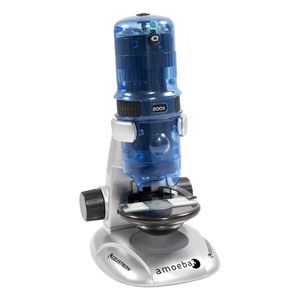 Item #44325 Amoeba Dual Purpose Digital Microscope (Blue)