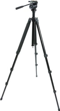 Item # 82050 Trailseeker Tripod c/w Fluid Pan Head