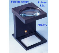 FDL11G Folding with light magnifier